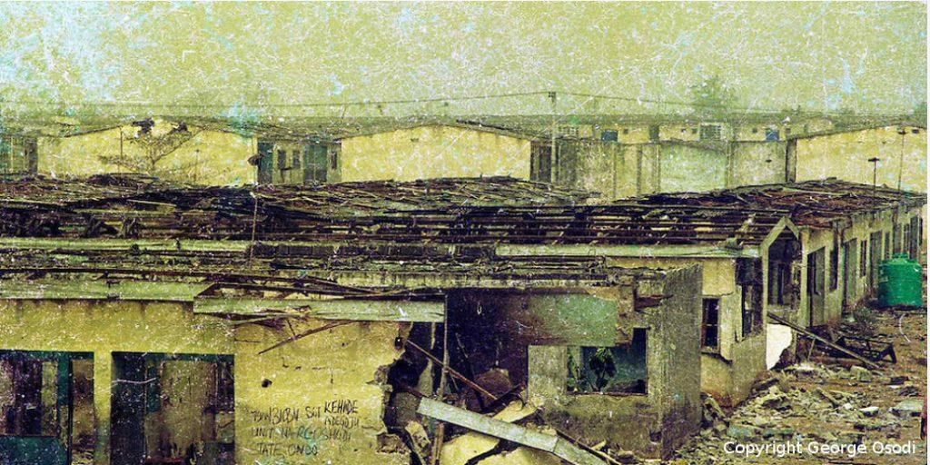 Aftermath of the January 2002 Lagos Bomblast